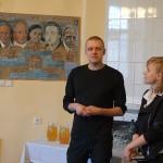 Alo Valge und sein Kunstwerk