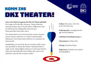Theater Werbung
